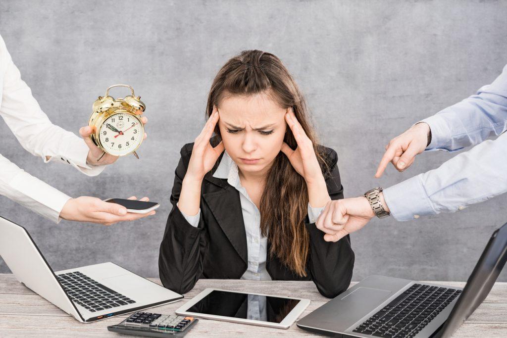 Estresse Atinge 72% dos Profissionais Brasileiros